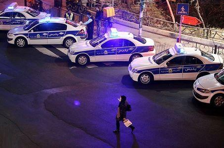 حضور گسترده پلیس پایتخت در سطح شهر