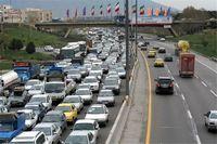 افزایش حجم تردد در جادههای کشور