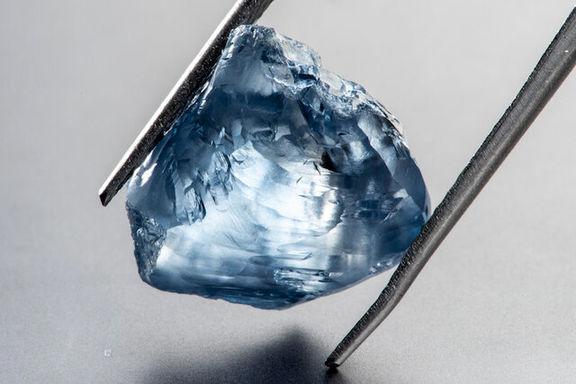 الماس آبی ۱۵ میلیون دلار فروش رفت