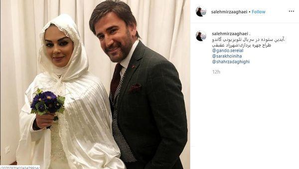 ساارا خوئینی ها عروس شد + عکس