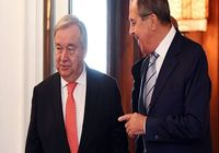 لاوروف و گوترش درباره برجام در مسکو گفتوگو کردند