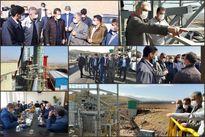 بازدید مدیرعامل شرکت مس از آخرین مراحل احداث کارخانه آهک اهر