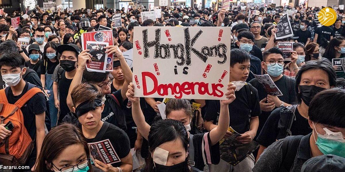 آرامش شکننده در فرودگاه هنگ کنگ