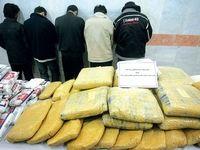 کشف بیش از ۱۵تن مواد مخدر  در جنوب کشور