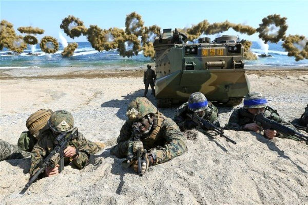 کره جنوبی و آمریکا رزمایش مشترک برگزار می کنند