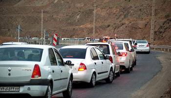 تردد وسایل نقلیه از کرج به چالوس ممنوع میشود