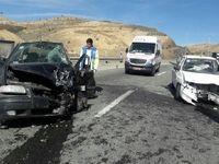 تصادف پژو و سمند ۱۲مصدوم داشت