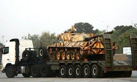 خودروی تانکبر کیان۷۰۰ رونمایی شد