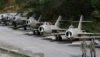گورستان مخوفترین هواپیماهای جهان +تصاویر