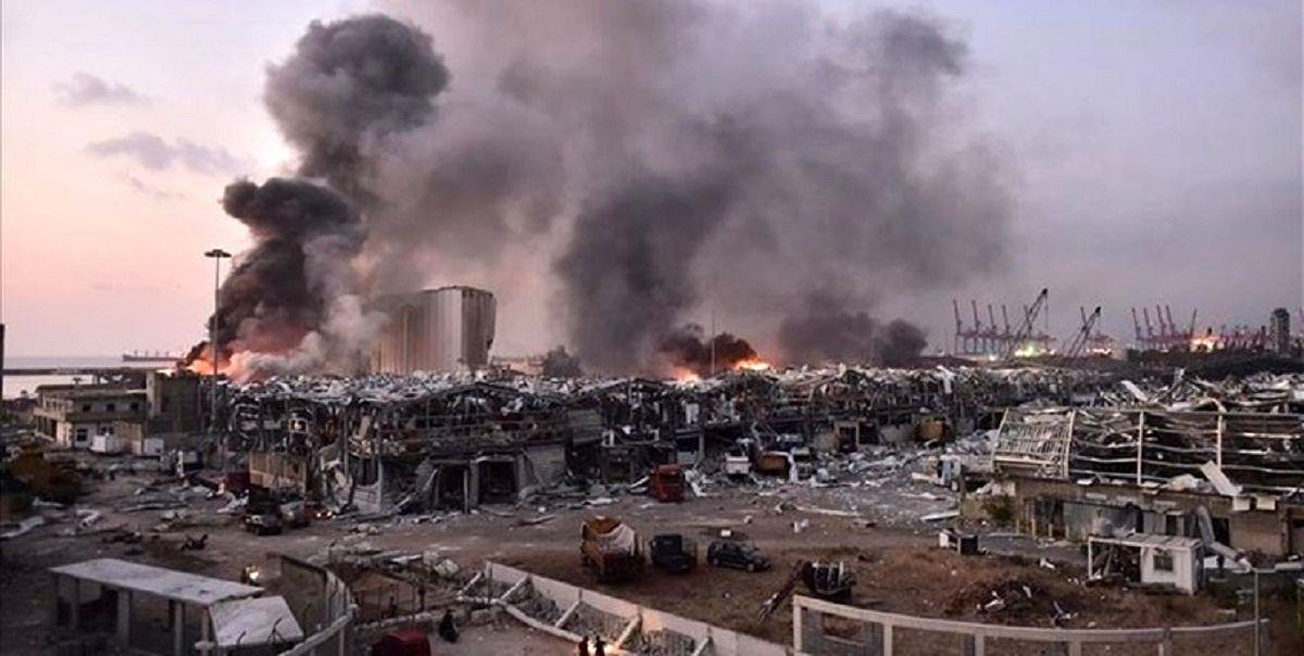 آمریکا: انفجار بیروت احتمالاً حاصل رویداد تصادفی است