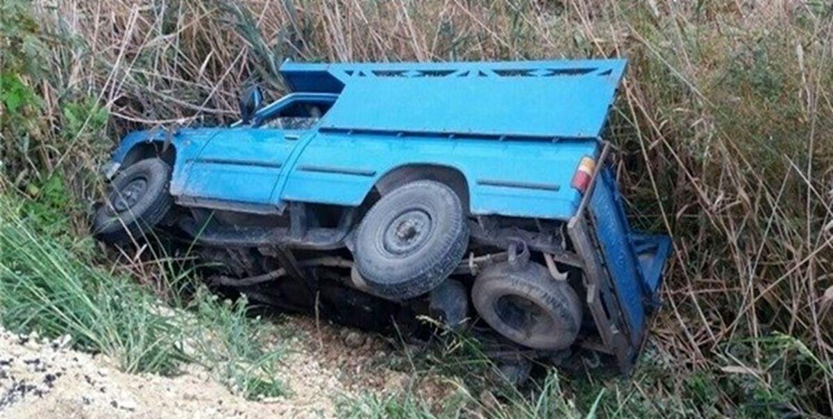 مرگ نوزاد 2ماهه در تصادف رانندگی