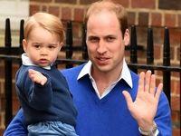 شباهت فراوان پرنس جورج با کودکی پدرش +فیلم