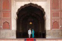 حجاب عروس ملکه انگلیس در پاکستان +تصاویر