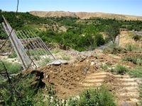 قلع و قمع 14ویلای غیرمجاز در حاشیه زایندهرود