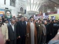 ادای احترام وزیر اطلاعات در مرقد مطهر امام خمینی