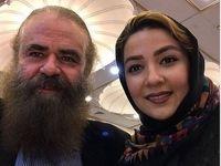 بازیگر ایرانی در ۶۳سالگی پدر شد + عکس