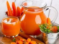 ۱۰خاصیت نوشیدن آب هویج