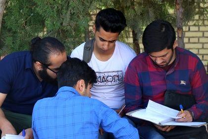 حالوهوای دانشجویان در فصل امتحانات پایان ترم +تصاویر