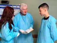 برگزاری مراسم ازدواج در بیمارستان +عکس