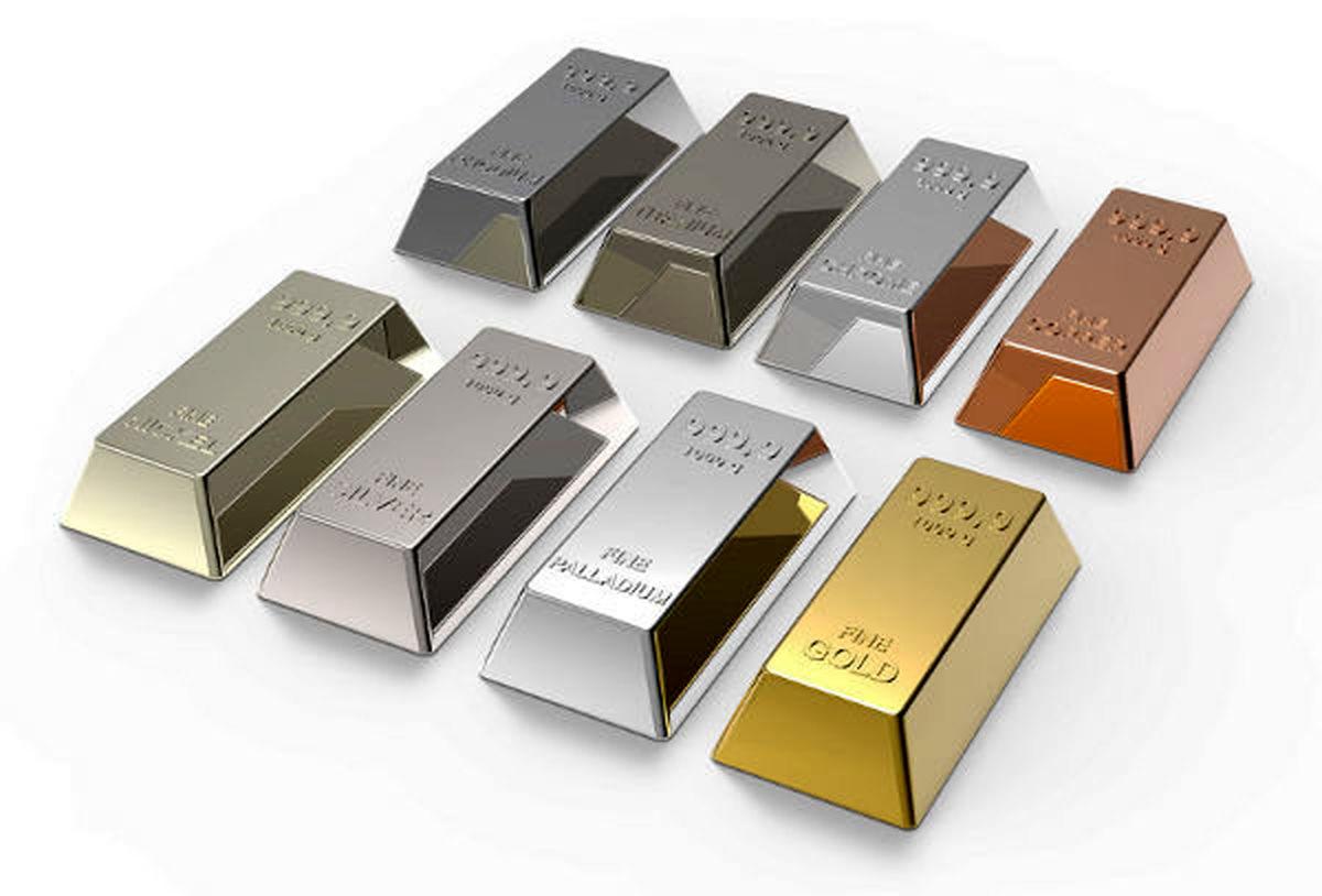 پالادیوم یکی از گرانترین فلزات دنیا