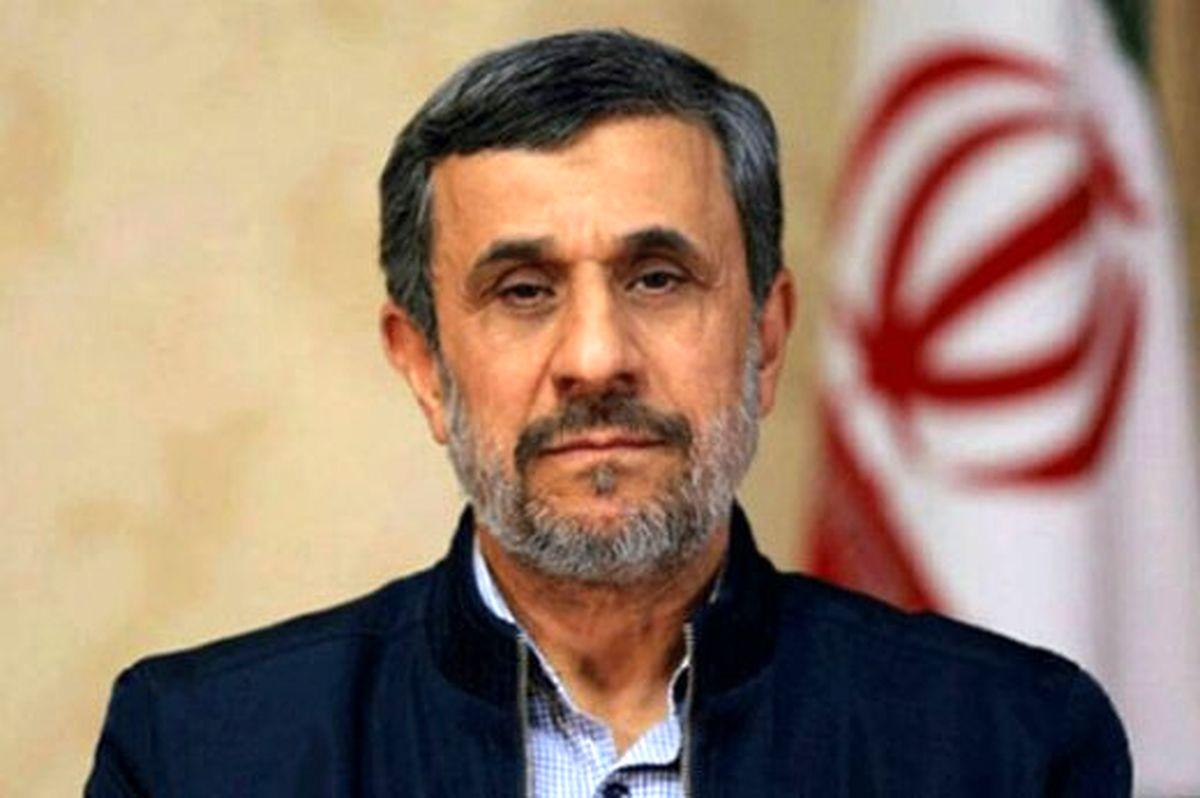 حمله احمدی نژاد  به دولت روحانی