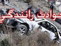 مرگ راننده وانتپیکان درتصادف با ایسوزو