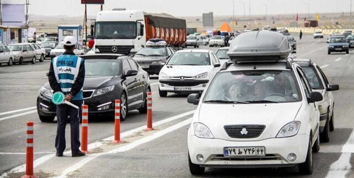 وضعیت جاده ها در نخستین روز تعطیلات