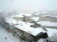قطع برق در برخی مناطق استان گیلان/ برف سنگین در رشت + عکس