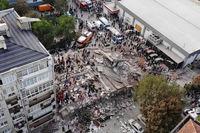۷۶کشته و ۹۶۲زخمی در زلزله ترکیه تاکنون