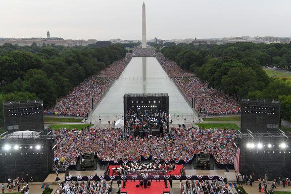 «روز استقلال»، برای آمریکا بیش از 5میلیون دلار آب خورد