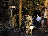 ۲۵نفر زمان وقوع انفجار در محل حادثه بودند +عکس
