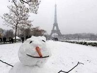 بازگشت مجدد زمستان به فرانسه +فیلم