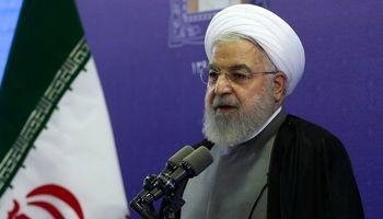 روحانی: ما دخالت تحریکآمیز بیگانگان را تحمل نمیکنیم +فیلم
