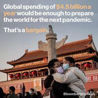 سالانه چقدر بودجه برای مقابله با بیماریهای فراگیر باید اختصاص داده شود؟/کمتر از 5درصد کشورها آمادگی دارند