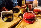 صف برای گرانترین همبرگر در تهران +عکس