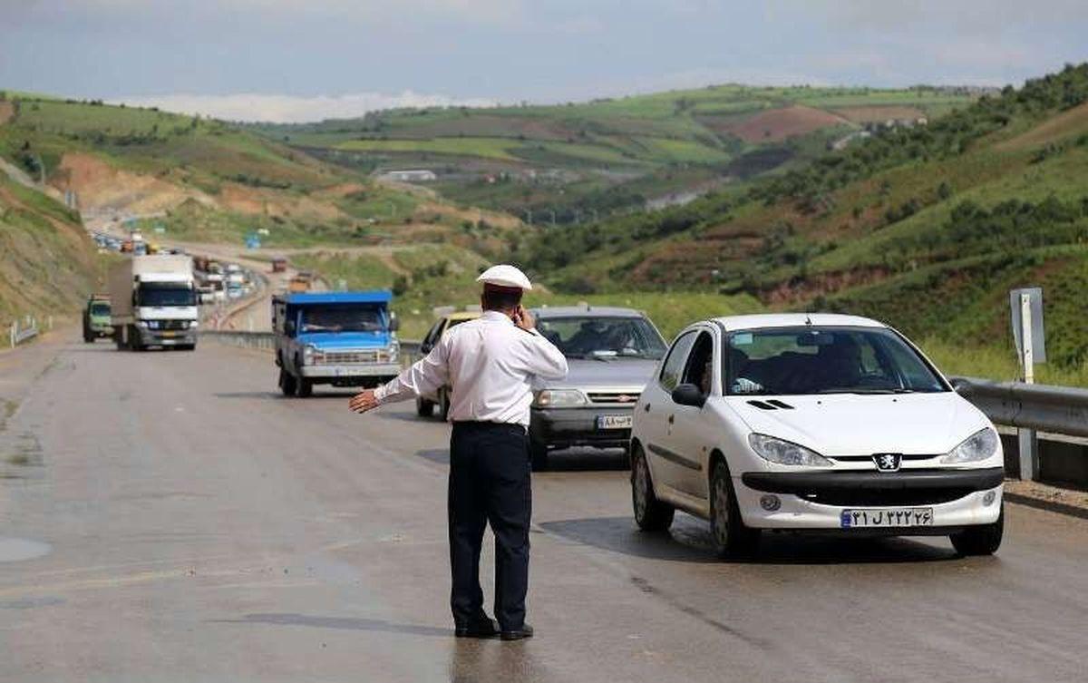 بازگردانده شدن ۲هزار و ۷۰۰ خودرو در جادههای شمال