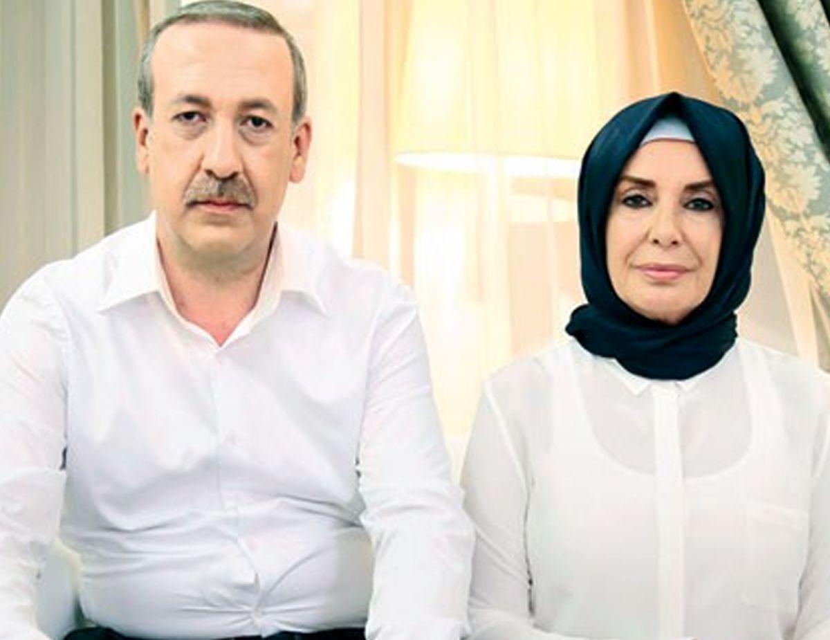 گریم بازیگران نقش اردوغان و همسرش+عکس