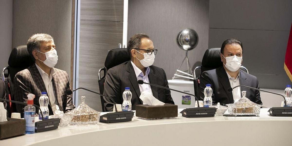 انعقاد تفاهمنامه همکاری بانک ملت و شرکت سمات