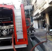 آتش سوزی در «پردیس زندگی» بلوار اباذر مهار شد