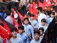 دسته عزاداری حسینی کودکان سوری +تصاویر