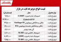 قیمت انواع دوچرخه ثابت در بازار؟ +جدول