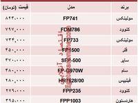 نرخ انواع غذا ساز در بازار تهران؟ +جدول