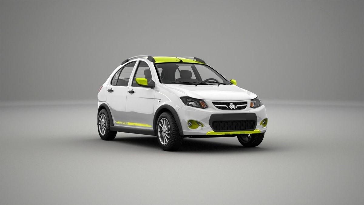 خودروهای دو رنگ وارد بازار می شود