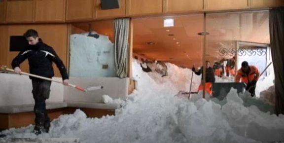 بارش سنگین برف در اروپا 21کشته برجا گذاشت +تصاویر