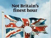 آسیب پذیری انگلیس از کرونا روی جلد اکونومیست
