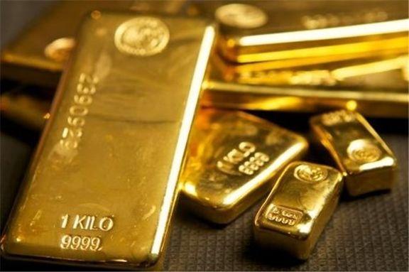 کاهش ارزش اونس جهانی طلا