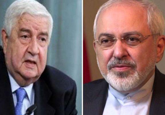 ظریف: حمله موشکی امروز به سوریه را محکوم کرد