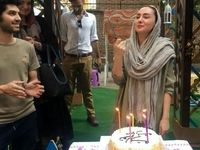 تولد 40سالگی خانم بازیگر +عکس