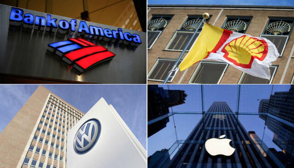 بزرگترین شرکتهای جهان کدام است؟