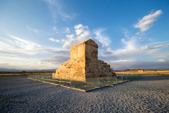 مقبره کوروش بیش از 100 سال پیش +عکس